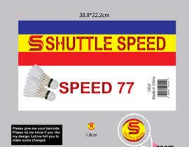 #8 for Design of badminton shuttlecock tube packaging af Sreesujitdeb