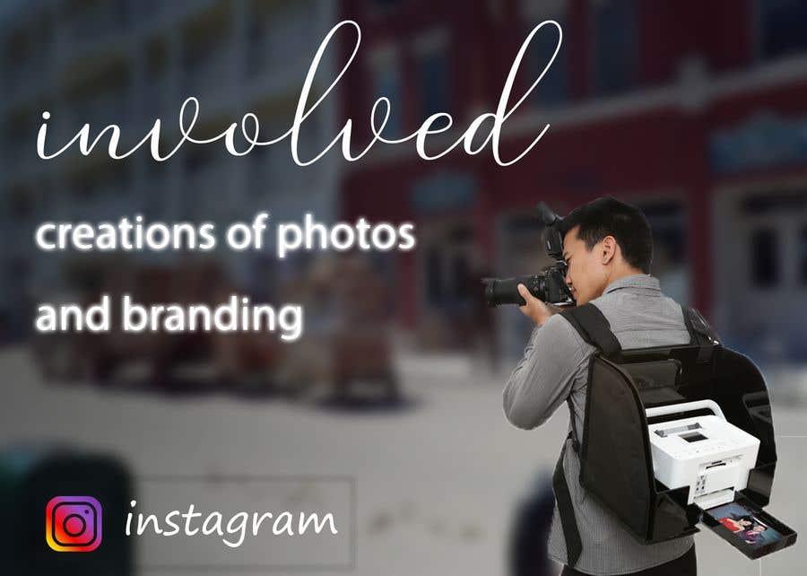 Konkurrenceindlæg #36 for Instagram Photo/logo design
