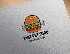 #1484 untuk LOGO - Fast food meets pet food (modern, clean, simple, healthy, fun) + ongoing work. oleh rokonranne