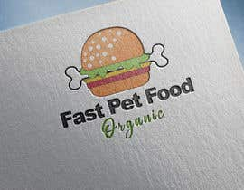 #1804 for LOGO - Fast food meets pet food (modern, clean, simple, healthy, fun) + ongoing work. by sabbirART