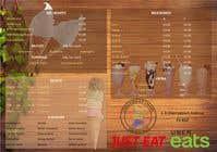 Graphic Design Inscrição do Concurso Nº8 para A5 Menu design for Ice cream, Juice bar