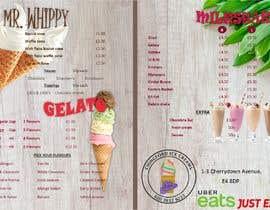 #14 para A5 Menu design for Ice cream, Juice bar por anabtrsy