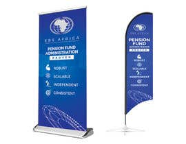 """#46 for Design a """"Banner Flag"""" and """"Pull up Banner"""" for an outdoor event by SmartBlackRose"""