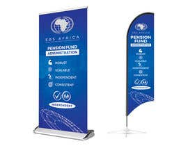 """#51 for Design a """"Banner Flag"""" and """"Pull up Banner"""" for an outdoor event by SmartBlackRose"""