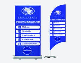 """#27 for Design a """"Banner Flag"""" and """"Pull up Banner"""" for an outdoor event by srranjitkumar487"""