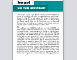 Nro 20 kilpailuun I need eBook Content Pages Designed käyttäjältä mousumi09