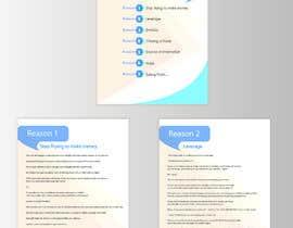 Nro 21 kilpailuun I need eBook Content Pages Designed käyttäjältä ishaqhossain2