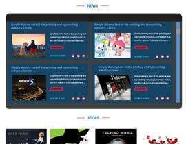 #104 for Design a homepage by ranashohel085