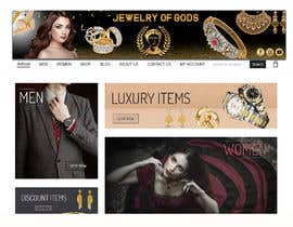 #173 for Banner for Jewel Website by shorna99