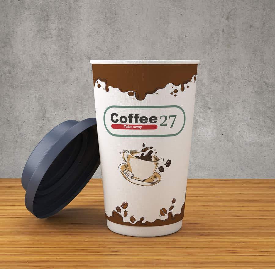 Proposition n°                                        18                                      du concours                                         Paper coffee cup design