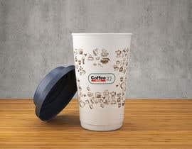 nº 12 pour Paper coffee cup design par habeeba2020