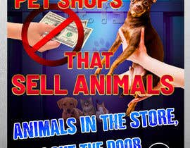 #28 for Stop Animal Trading Leaflet af Alexander7117