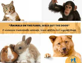 #11 for Stop Animal Trading Leaflet af nursyahiera