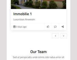 Nro 28 kilpailuun Relaunch of website for real estate in Wordpress käyttäjältä webhazrat