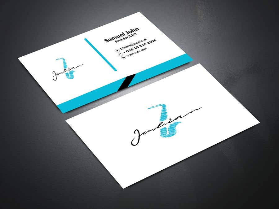 Contest Entry #361 for Design business cards for musician - Saxophone - Logo available