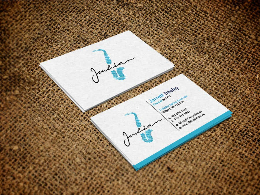 Contest Entry #159 for Design business cards for musician - Saxophone - Logo available
