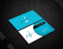 #98 for Design business cards for musician - Saxophone - Logo available by ranjan06