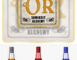 Nro 39 kilpailuun Label for liquor company käyttäjältä pherval