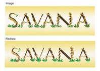Bài tham dự #17 về Graphic Design cho cuộc thi Redraw a logo of Savana Grup