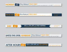 #17 for Create new banners by MOMODart