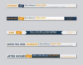 nº 17 pour Create new banners par MOMODart