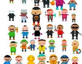 Nro 19 kilpailuun Design 25 Level Icons for App käyttäjältä imaginemeh