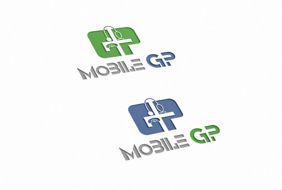 Penyertaan Peraduan #1127 untuk Design a logo for MOBILE GP