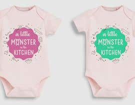 #42 for baby girl bodysuit graphics by ConceptGRAPHIC
