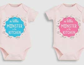 #43 for baby girl bodysuit graphics by ConceptGRAPHIC