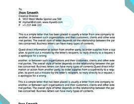 #54 cho Design business card & letter head bởi mamunbranding4u