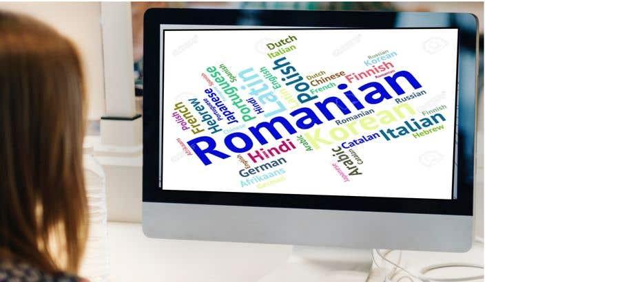 Penyertaan Peraduan #16 untuk Picture/video on learning Romanian online