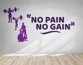 #19 untuk ladies fitness sports gym wall poster designs  - 15/04/2019 04:04 EDT oleh matrixace