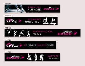 #46 untuk ladies fitness sports gym wall poster designs  - 15/04/2019 04:04 EDT oleh shahabasvellila