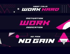 #43 untuk ladies fitness sports gym wall poster designs  - 15/04/2019 04:04 EDT oleh RakibHsn