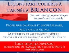 #29 for Flyers to promote private English classes in France af AkS0409
