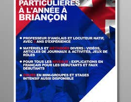 #31 for Flyers to promote private English classes in France af luisanacastro110