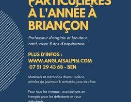 #37 for Flyers to promote private English classes in France af filzahbakeri