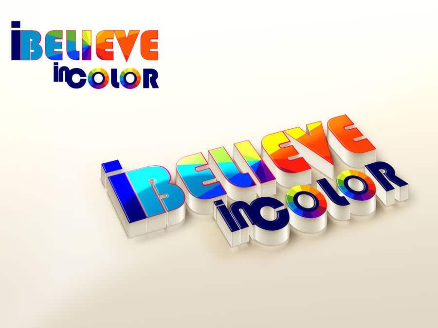 Kilpailutyö #6 kilpailussa Create company logo for video / photography studio. I Believe in Color