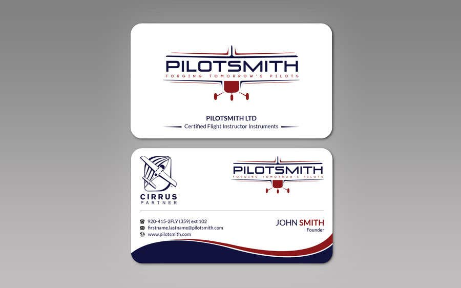 Entry 212 By Ahtonmoy For New Business Cards Freelancer