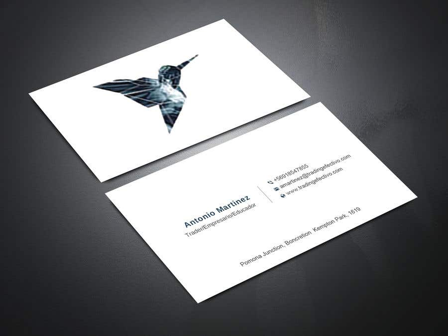 Kilpailutyö #633 kilpailussa Business card