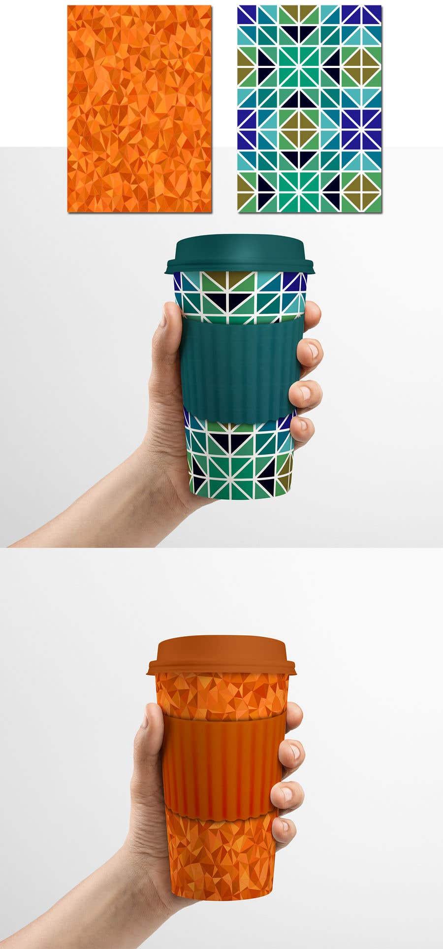 Bài tham dự cuộc thi #19 cho I need two designs for a reusable coffe mug