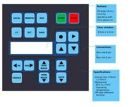 #4 for Redesign the look of my membrane keypad to look slicker af kaanokcu