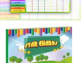 #20 for Design a kids reward chart in a3 size af pherval