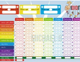 #5 for Design a kids reward chart in a3 size af michbo