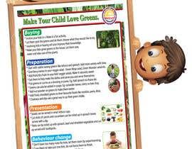 #23 for Design a poster for wellcure - Make Your Child Love Greens. af designerjalaludd