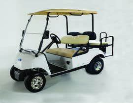 #13 for photoshop changes to golf cart by srmon