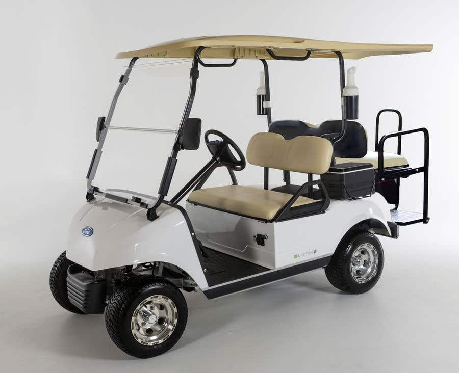 Contest Entry #12 for photoshop changes to golf cart