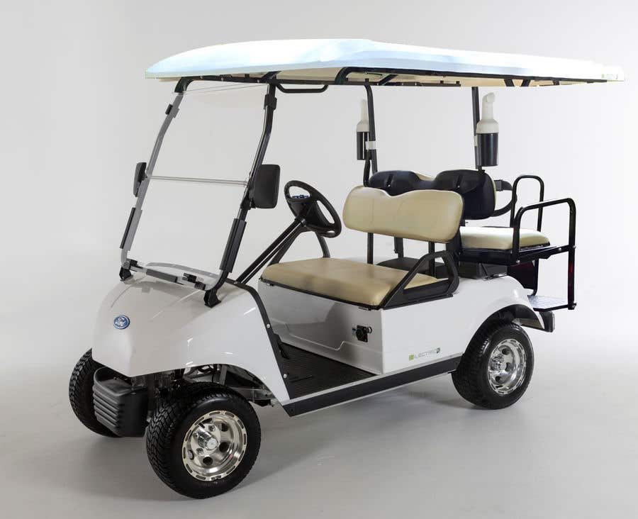 Contest Entry #11 for photoshop changes to golf cart