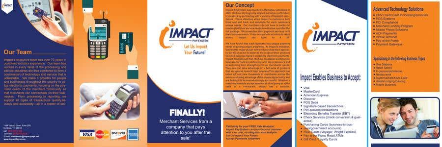 Kilpailutyö #1 kilpailussa Impact PaySystem Tri Fold Marketing Pamphlet