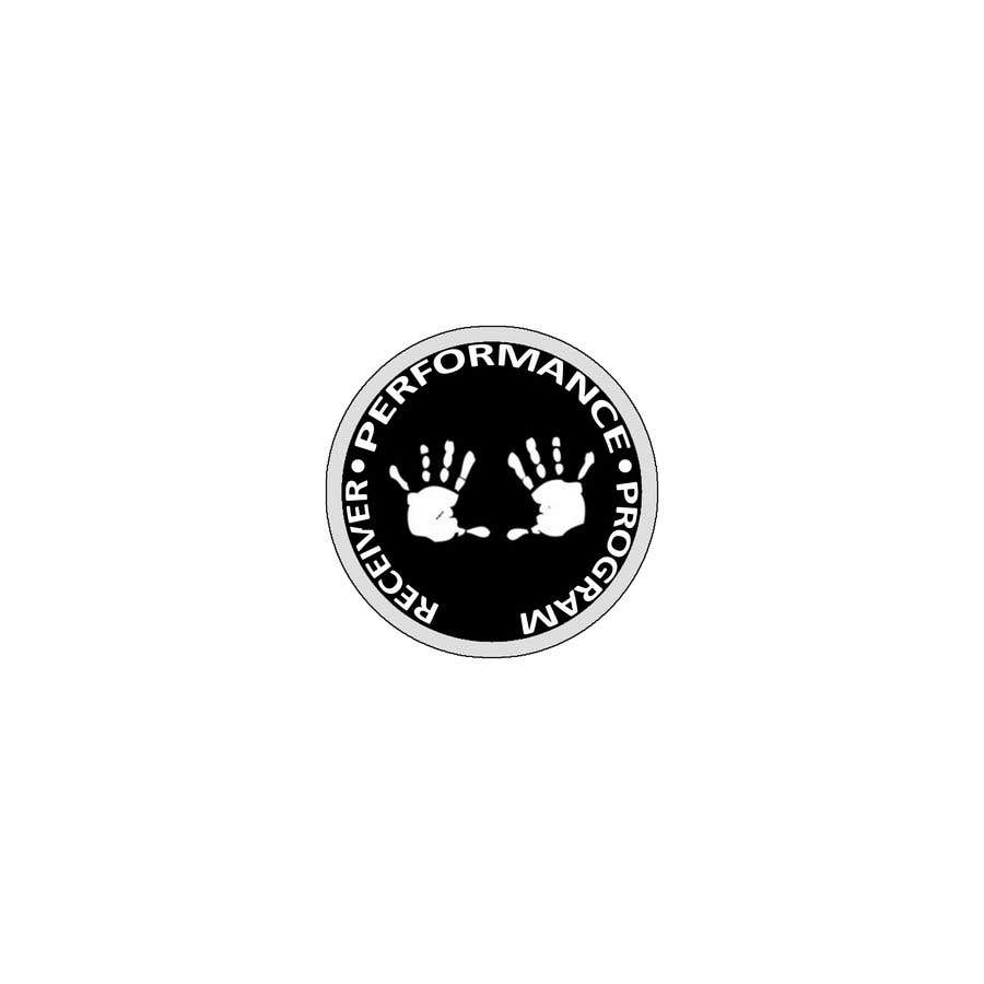 Konkurrenceindlæg #10 for I need a simple logo for my training program. I love the CrossFit vibe of the logo I sent. The hand print should be the main and centred. (Receiver Performance Program) is the name of the training program.
